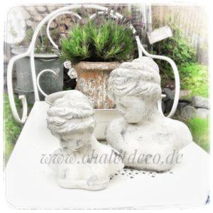Frauenbüste-Keramik