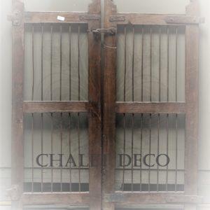 alte Gittertür