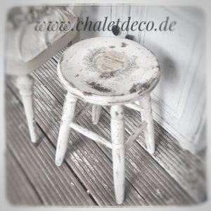 Hocker-Holz-Vintage