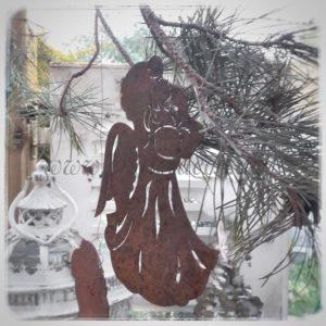 Baumschmuck-Rost-Weihnachten-Engel