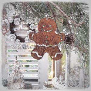 Weihnachtsdeko-Baumschmuck-Rost-Lebkuchen