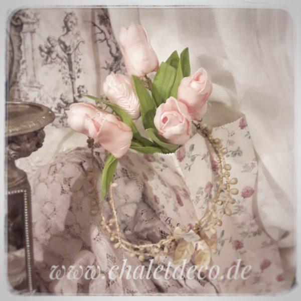 Tulpenbund-rosa-Kunststoff