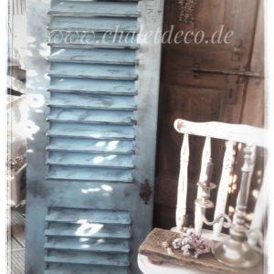 Fensterladen-Holz-Vintage-Deko