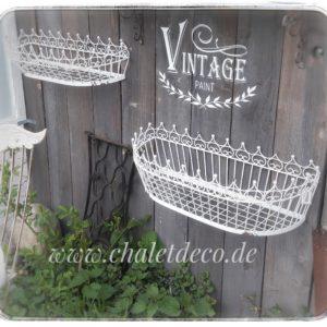 Vintage-Shabby-Chic-Wandkorb